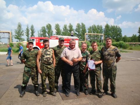Смотр-конкурс на звание «Лучшая добровольная пожарная команда Ярославской области»