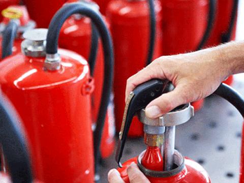 Перезарядка огнетушителей и огнезащитная обработка