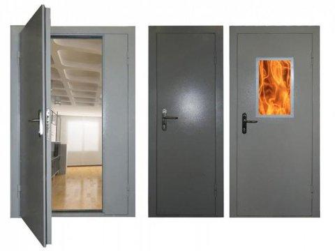 Монтаж противопожарных дверей, ворот, перегородок, люков