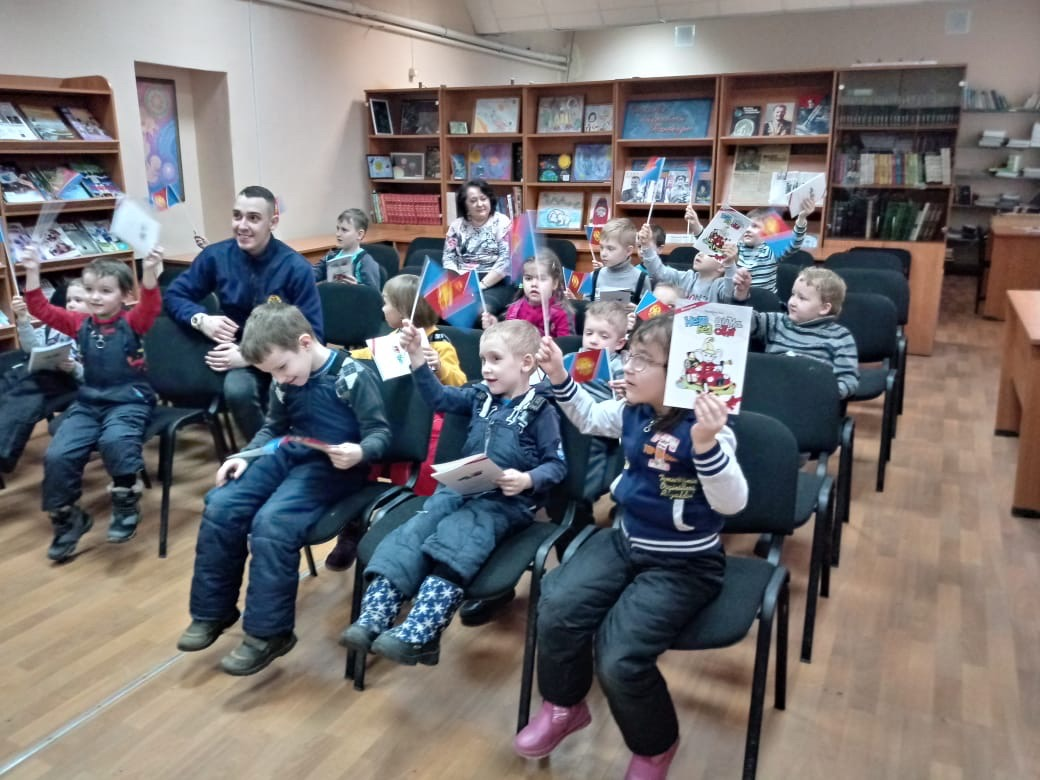 19 февраля 2020 года состоялось занятие для воспитанников детского сада №78