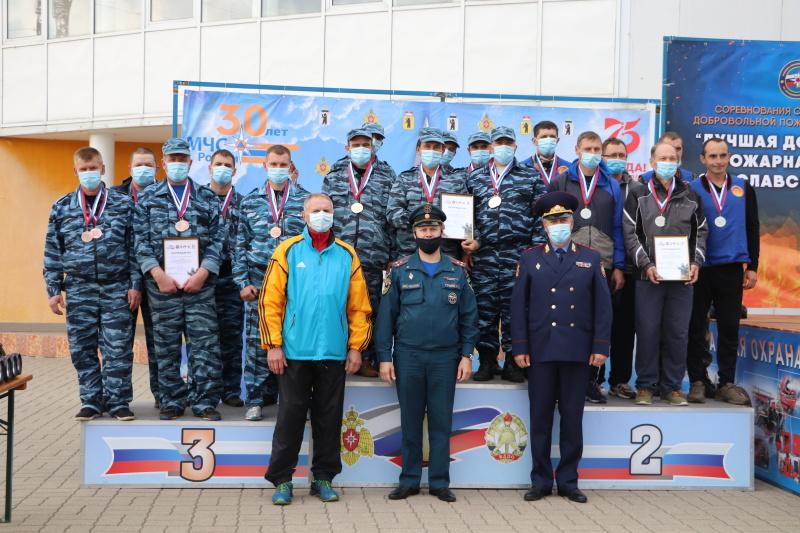 17 сентября, в Ярославле состоялись соревнования среди подразделений добровольной пожарной охраны на звание «Лучшая добровольная пожарная команда Ярославской области».